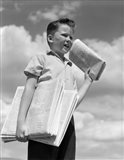 1930s Newspaper Boy
