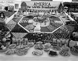 1950s Farm Produce And Other Food At State Fair
