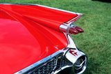 1959 Cadillac Tail Fin And Tail Light