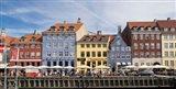 Colorful Houses along Nyhavn, Copenhagen, Denmark