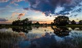 Small Pond at Sunset, Venice, Florida
