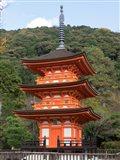 Small Pagoda at Kiyomizu-dera Temple, Japan