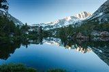 Reflection of Mountain in a River, Sierra Nevada, California