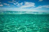 Clouds over the Pacific Ocean, Bora Bora, French Polynesia
