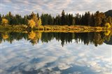 Reflection of Clouds on Water, Grand Teton National Park, Wyoming