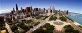 Aerial Grant Park, Chicago, IL