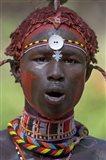 Portrait of a Samburu tribal