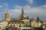 Cathedral, Lausanne, Switzerland