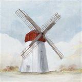 Red Windmill I