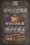 Coffee Menu I