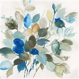 Blue Leaves I