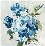 Blue Peony II