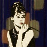 Pixeled Hepburn