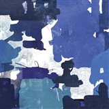 Block Paint II Blue