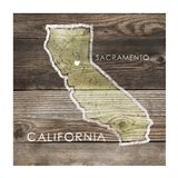 California Rustic Map