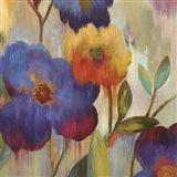 Ikat Florals I