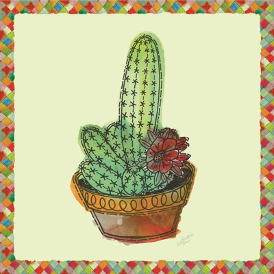 Rainbow Cactus III Poster by Marie-Elaine Cusson for $46.25 CAD