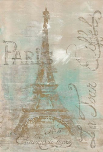 Champs de Mars Poster by Marie-Elaine Cusson for $41.25 CAD