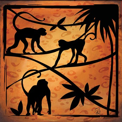 Safari Silhouette II Poster by Gena Rivas-Velazquez for $32.50 CAD