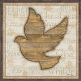 Rustic Peace Dove