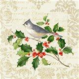 Botanical Christmas Cream II