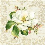 Botanical Christmas Cream III