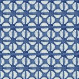 Blue Shibori I (blue coffee bean)