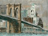 Brooklyn Bridge Cityscape