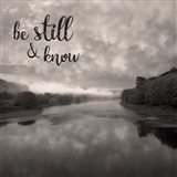 Be Still & Know Sepia