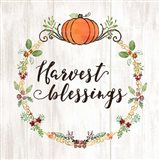 Pumpkin Spice Harvest Blessings