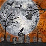 Something Wicked Graveyard I Hanging Bat