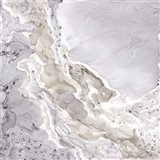 Silver and Grey Mineral Abstract