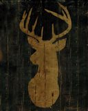 Rustic Lodge Animals Deer Head