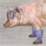 Intellectual Animals V Pig in Boots