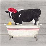 Bath time for Cows Tub