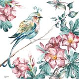 Island Living Bird and Floral II