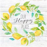 Our Happy Place Lemon Wreath