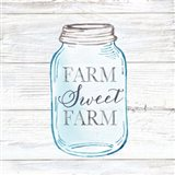 Farmhouse Stamp Mason Jar