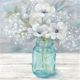 Vintage Jar Bouquet I