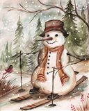 Country Snowman IV