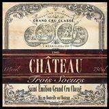 Grand Vin Wine Label II