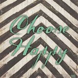 Chevron Sentiments Teal II