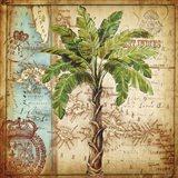 Antique Nautical Palms I