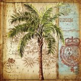 Antique Nautical Palms II