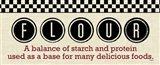 Checkered Kitchen Sign II