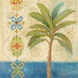 Ikat Palm I