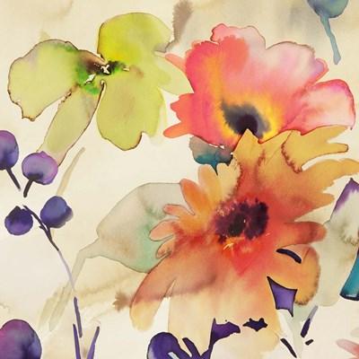 Floral Fireworks I Poster by Kelly Parr for $53.75 CAD