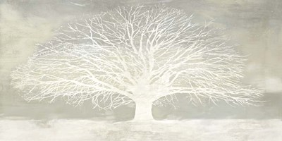 White Tree Poster by Alessio Aprile for $50.00 CAD