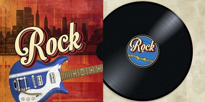 Rock Collection Poster by Steven Hill for $50.00 CAD