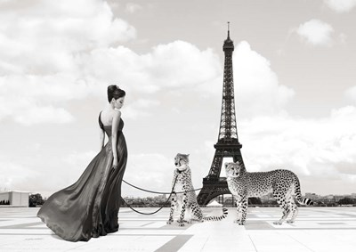Trocadero View (detail) Poster by Julian Lauren for $43.75 CAD
